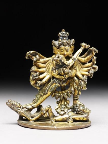 Figure of Samvara and his consort Vajravarahi