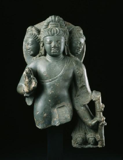 Figure of Brahma, god of creation