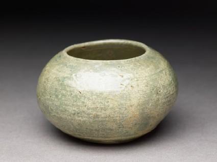 Greenware jar