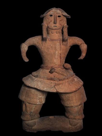 Haniwa figure of a warrior
