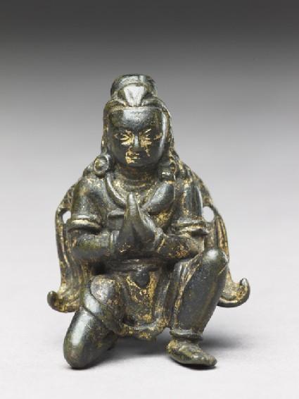 Figure of Garuda, the man-bird vehicle of Vishnu