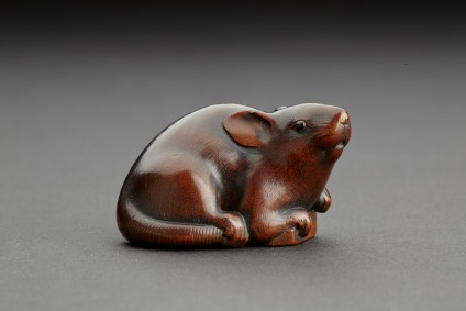 Netsuke in the form of a mouse