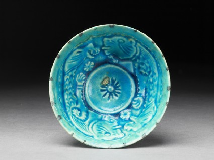 Bowl with animal decoration