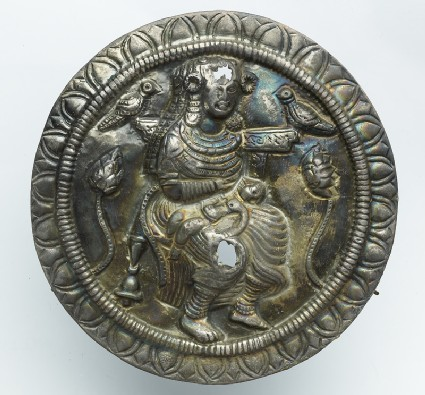Roundel with the goddess Hariti