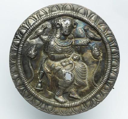 Roundel with the goddess Hariti
