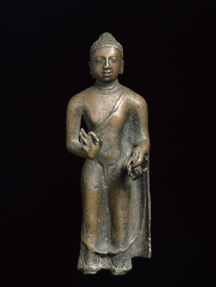 Standing figure of the Buddha