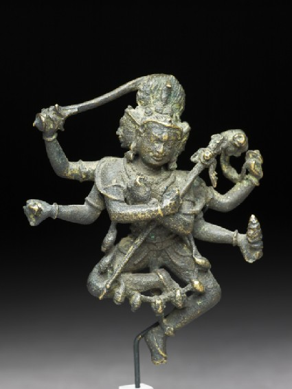 Figure of a Buddhist deity