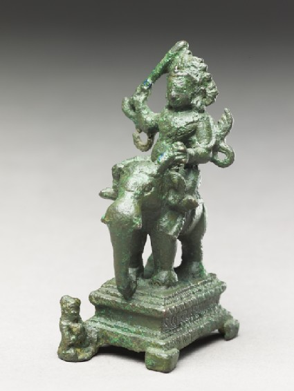 Figure of Indra, god of rain, storms, and war