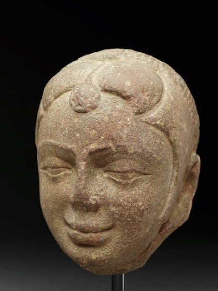 Head of a yakshi, or nature spirit