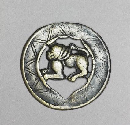 Lion talismanic plaque, or tokcha