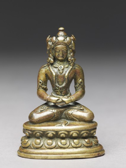 Seated figure of the Vairocana Buddha