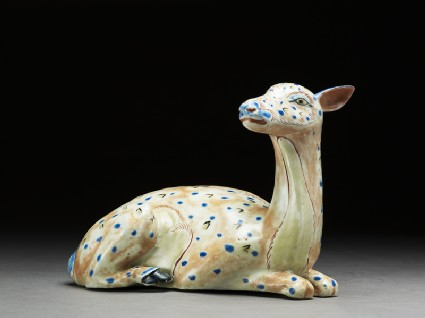 Figure of a reclining hind