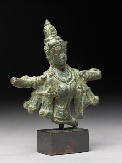 Torso fragment of Durga