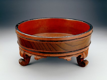 Basin used for a Buddhist hand-washing ceremony