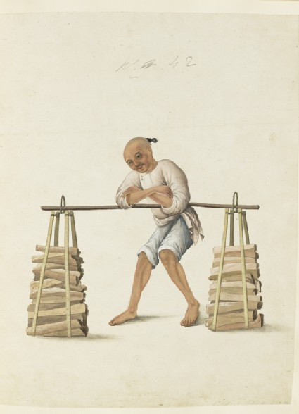 A Porter with Firewood