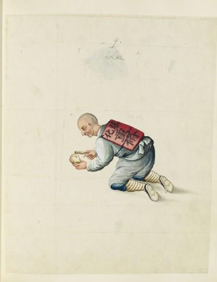 A Buddhist mendicant