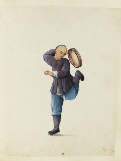 A Tambouriner