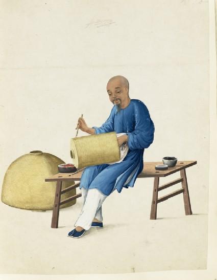A Lantern-Painter