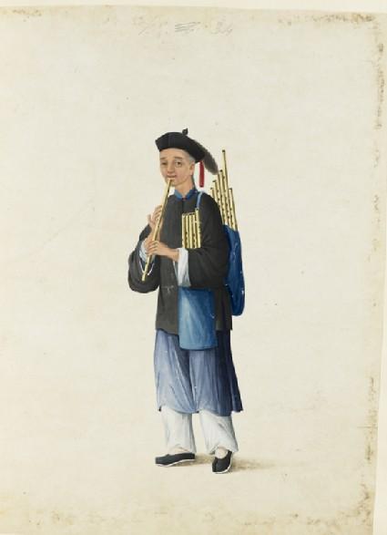 A Flute-Seller