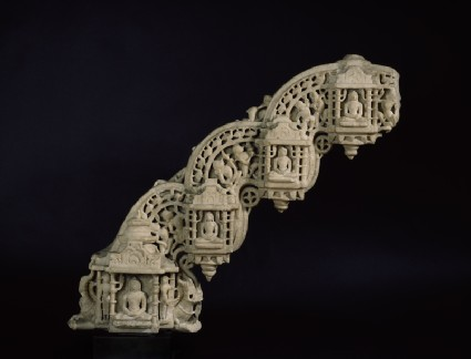 Section of a torana arch from a Jain temple