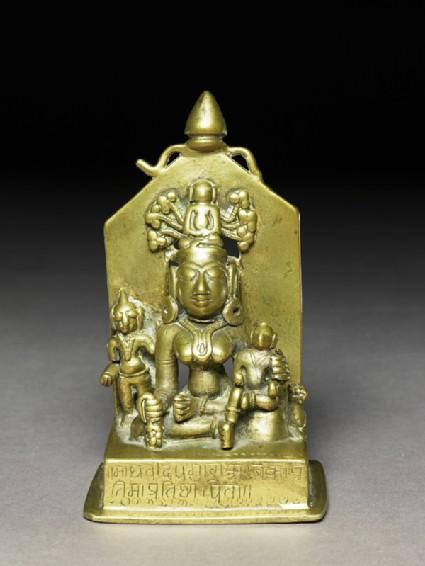 The goddess Ambika