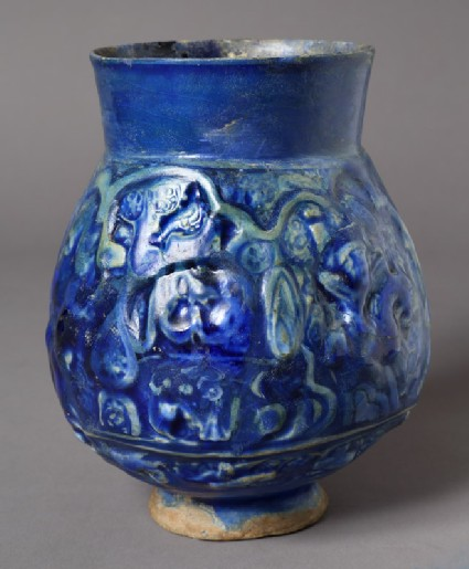 Vase with figures