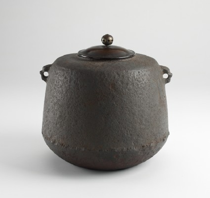 Iron tea kettle