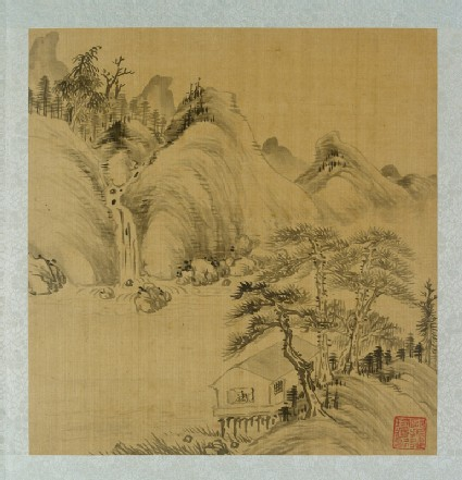 Album of landscapes by Qian Gu