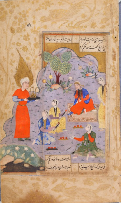 Zulaykha's maids mesmerized by Yusuf's beauty
