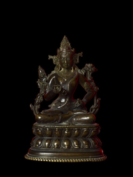Seated figure of Vajrasattva