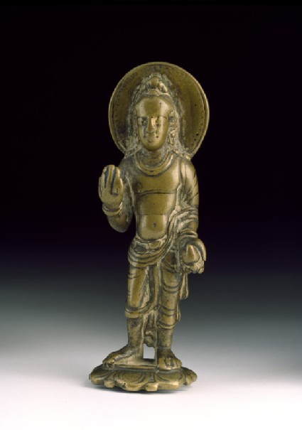 Standing figure of Maitreya, the future Buddha