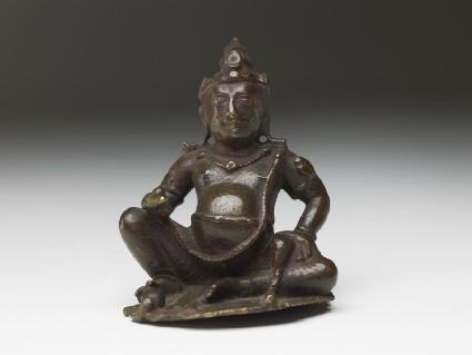 Figure of Kubera, god of wealth