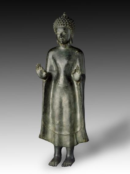 Standing figure of the Buddha
