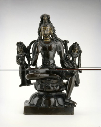 Figure of Padmapani with attendants