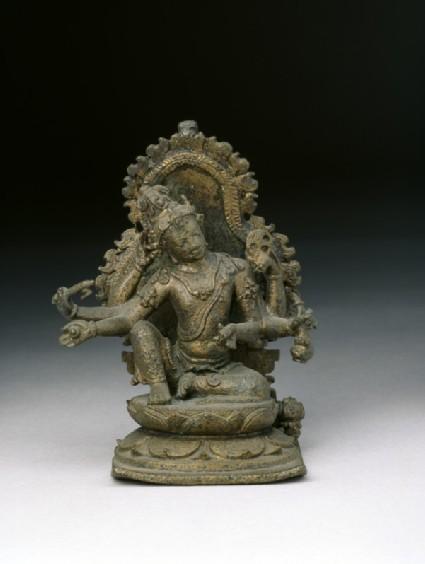 Figure of six-armed Avalokiteshvara