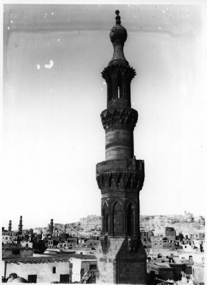 Minaret of al-Zumr (near Bab al-Qarafa)