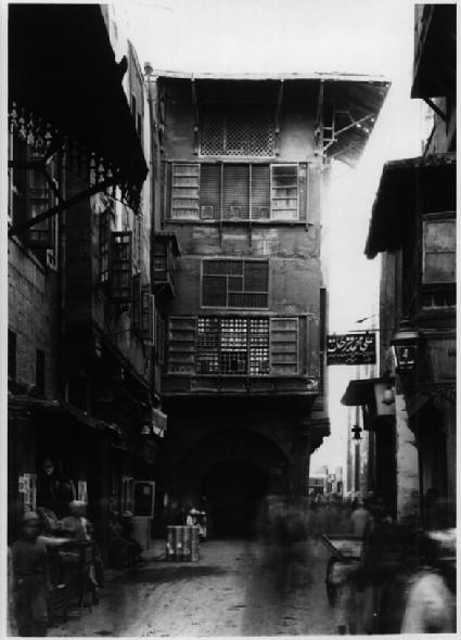 Wikala Dhu'l-Fiqar (Oda Bashi) and Cairo street