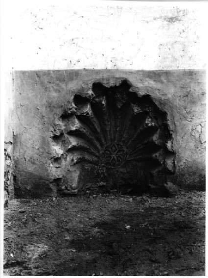 Mihrab from next to Mausoleum of Yahya al-Shabih