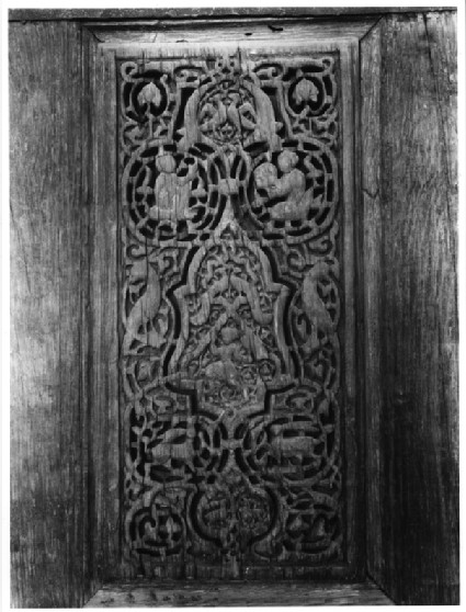 Woodwork from the Western Fatimid Palace (MIA, Cairo)
