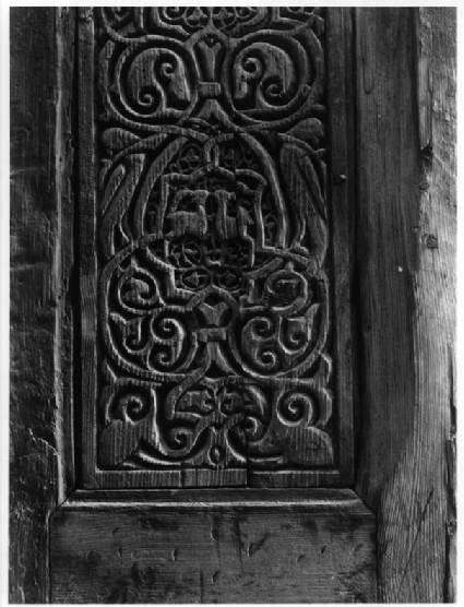 Fatimid Western Palace: door (MIA, Cairo)