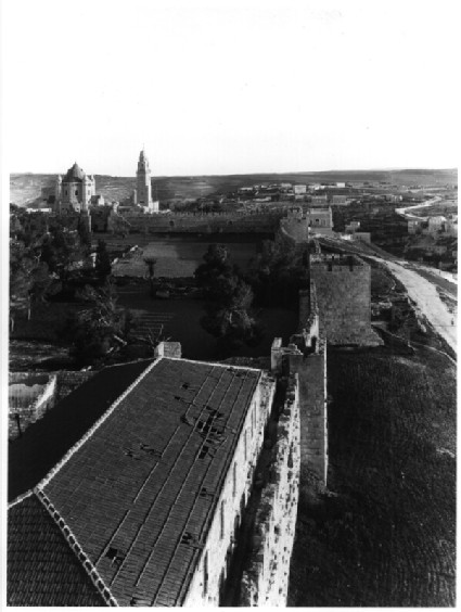 City Walls: Armenian Quarter, looking south from Citadel