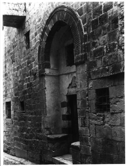 Ottoman portal on Via Dolorosa