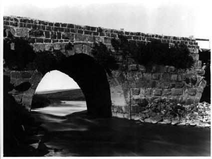 Jisr Banat Ya`qub (showing reused Crusader masonry)