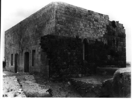 Crusader 'Hall', now mosque
