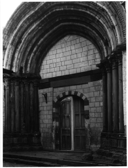 Great Mosque of Nablus, portal from Crusader church