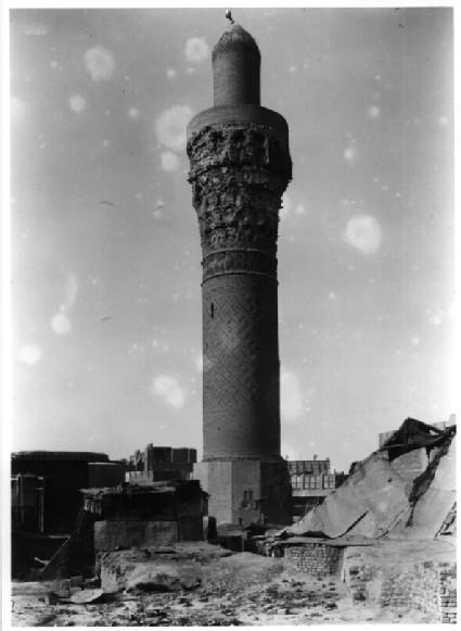 Minaret in Suq al-Ghazi