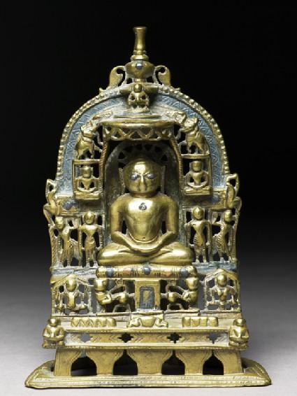 Shrine depicting the Tirthankara Kuntunatha