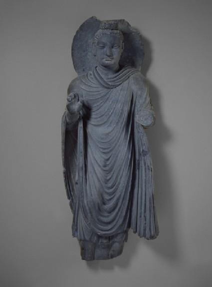 Standing figure of the Buddha Sakyamuni