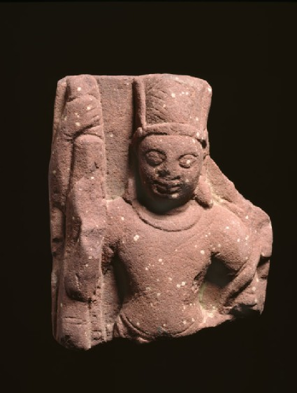 Relief fragment with Vishnu