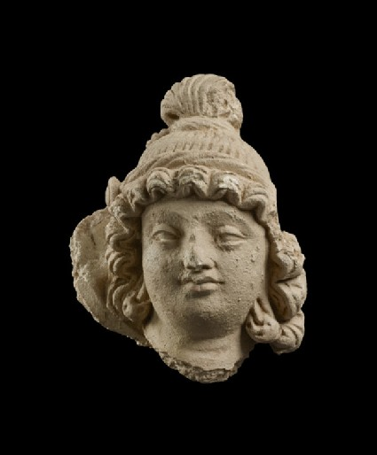 Head of a youthful Bodhisattva